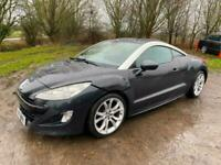 2010 Peugeot Rcz 1.6 THP GT 2dr DAMAGED REPAIRABLE SALVAGE COUPE Petrol Manual