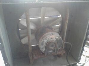 ventilateur de ferme