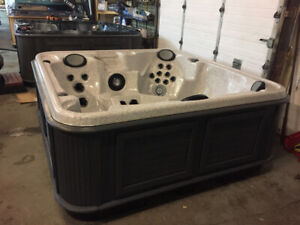 REFURBISHED HOT TUBS ; BY AJAX HOT TUB WAREHOUSE