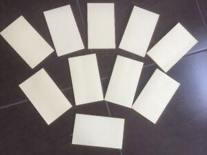 """Gluetop note pads 4x6.5"""" - cream"""