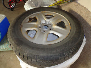 225/65R17 101H TOYO A20 OPEN COUNRTY ALL SEASON WITH RIM Edmonton Edmonton Area image 1