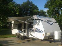 2011 Travel trailer, Onyx by RVision 25RB