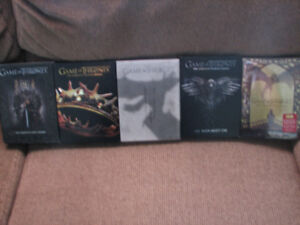 GAME OF THRONES SEASON 1-5 COMPLETE - DVD