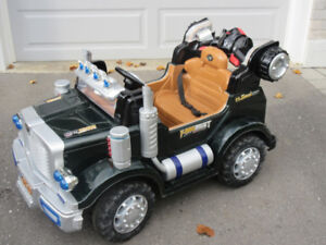 """""""KIDS ACTION TRUCK"""" WITH REMOTE CONTROL.....A GREAT DEAL.."""