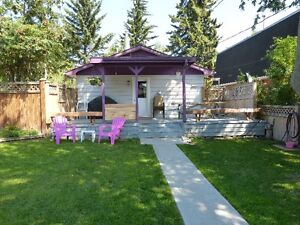Sylvan Lake Weekly Cabin Rental