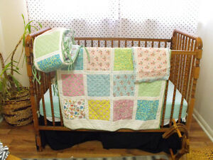 pottery barn baby quilt set