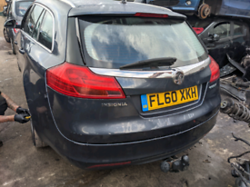 Vauxhall insignia 2010 grey estate breaking front bumper all parts