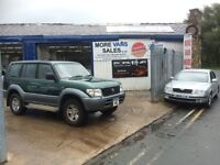1997 Toyota Land Cruiser 3.0 td Gx 7 seat 4x4 tow bar fitted air conditioning good for export?