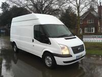 Ford Transit 2.2TDCi T350 Van / 125 Bhp / LWB / Hi Roof / Rear Racking / 2013.