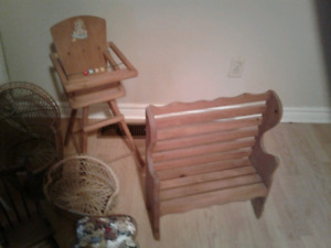 17 Pieces of Doll Furniture for Sale