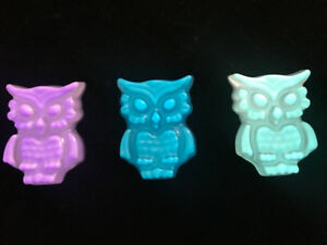 Owls - glow in the dark