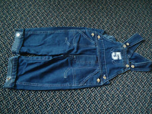 Boys Size 12 Months Patchwork Lightweight Jean Overalls Kingston Kingston Area image 1