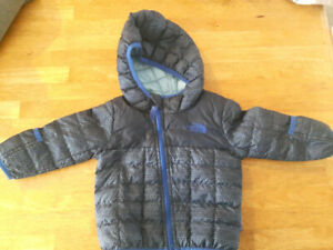 Manteau printemps North Face 6-12mois