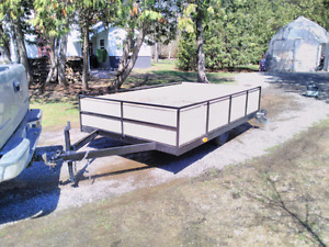 Wood/ ATV trailer for sale 6x10