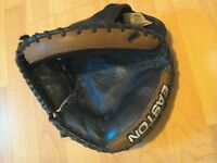 black magic right handed youth catchers glove