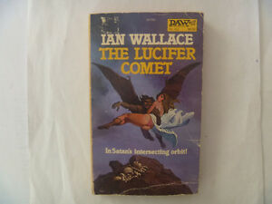 The Lucifer Comet by Ian Wallace - 1980 Paperback