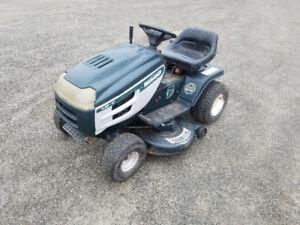 42 inch cut ride on lawn mower