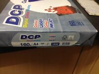 A4 160gsm inkjet/laser paper 250 sheets