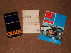Expo 67 documents-souvenir