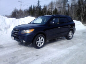FOR TRADE FOR 4X4 TRUCK: 2008 HYUNDAI SANTA FE LIMITED