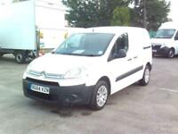 Citroen Berlingo 850 L1 90PS HDI DIESEL MANUAL WHITE (2014)