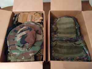 Camo Tactical Combat Gear Full Set, All-4-One Price - Need Gone