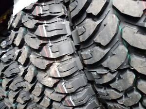 4 X NEW LT245-75-R16 GINELL TIRE 10PLY HOMOLUGE POUR HIVER