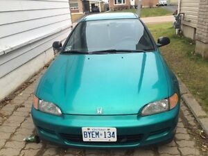 1994 Honda Civic DX Coupe (2 door)