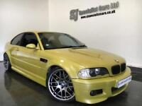 2005 BMW M3 Manual coupe Pheonix yellow + Every option & Nice mods