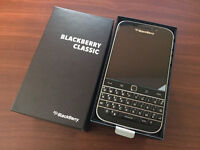 Wind Mobile BlackBerry Classic 16GB Black - BRAND NEW - SEALED!