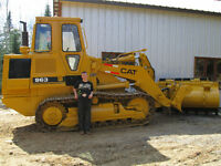 bulldozer caterpillar 963  bull