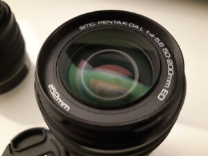 Objectif PENTAX DA L 50-200MM F4-5.6 ED
