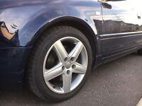 Audi A4 alloy wheels x5