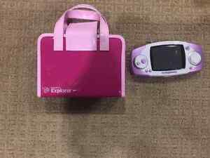 LeapFrog Leapster Explorer GS Learning System - Purple, w case