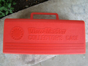 Vintage 1980 Red View-Master Collector's Case