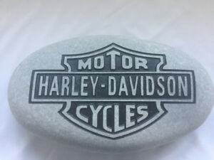 Beautiful Harley Davidson Garden /Garage Stone