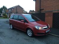 "Vauxhall Zafira 7 seater"" turbo diesel"" part ex welcome"