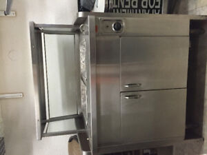Selling a two compartment steam/hot table.