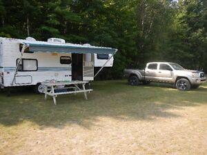 roulotte fifth wheel 22', avec l'attache camion, 4950$