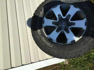4 rims 275/65/18 6 bolt pattern