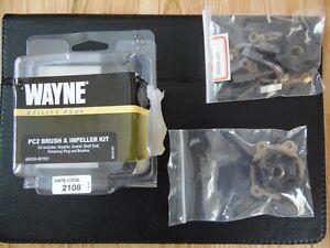 Brush & Impeller replacement kit for Wayne water pump