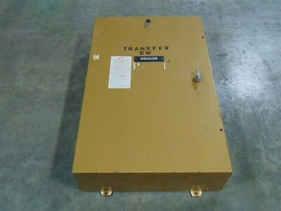 Used 100 Amp Kohler Automatic Transfer Switch 56e9574 277480v
