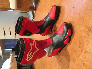 ALPINESTARS SUPERTECH R SIZE 12 NEVER USED