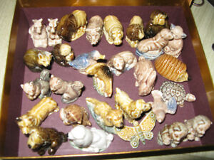 Vintage animal figurines from Red Rose tea - $4 each