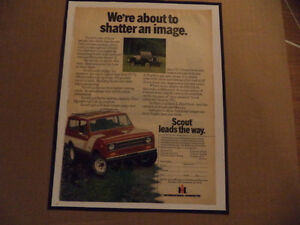 OLD INTERNATIONAL HARVESTER CLASSIC CAR ADS & JEEP Windsor Region Ontario image 1