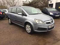 2006 Vauxhall Zafira 1.6i Expression 12 Months Mot *67k MILES* 7 Seater Petrol