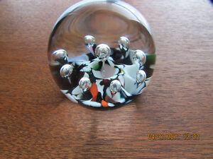 Vintage Caithness Scotland Paperweight