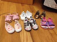 Size 2 and 3-6 months shoes