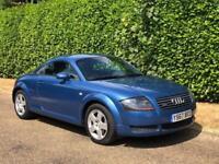 Audi TT Coupe 1.8T Quattro - LEFT HAND DRIVE [2002-Y]