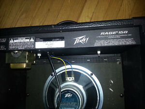PEAVEY GUITAR AMP RAGE158   Solid State  15 Watts RMS into 4 Ohm Kitchener / Waterloo Kitchener Area image 2